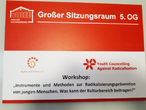 Tagungsraum Ankündigung Workshop